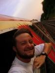 Mochileiro no Trem