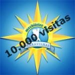 10 mil visitas no blog