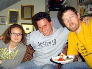 Anselmo na casa dos amigos Bob e Alice no País de Gales