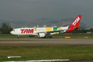 Avião TAM / Seleção Brasileira