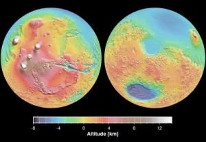 Topografia da Terra
